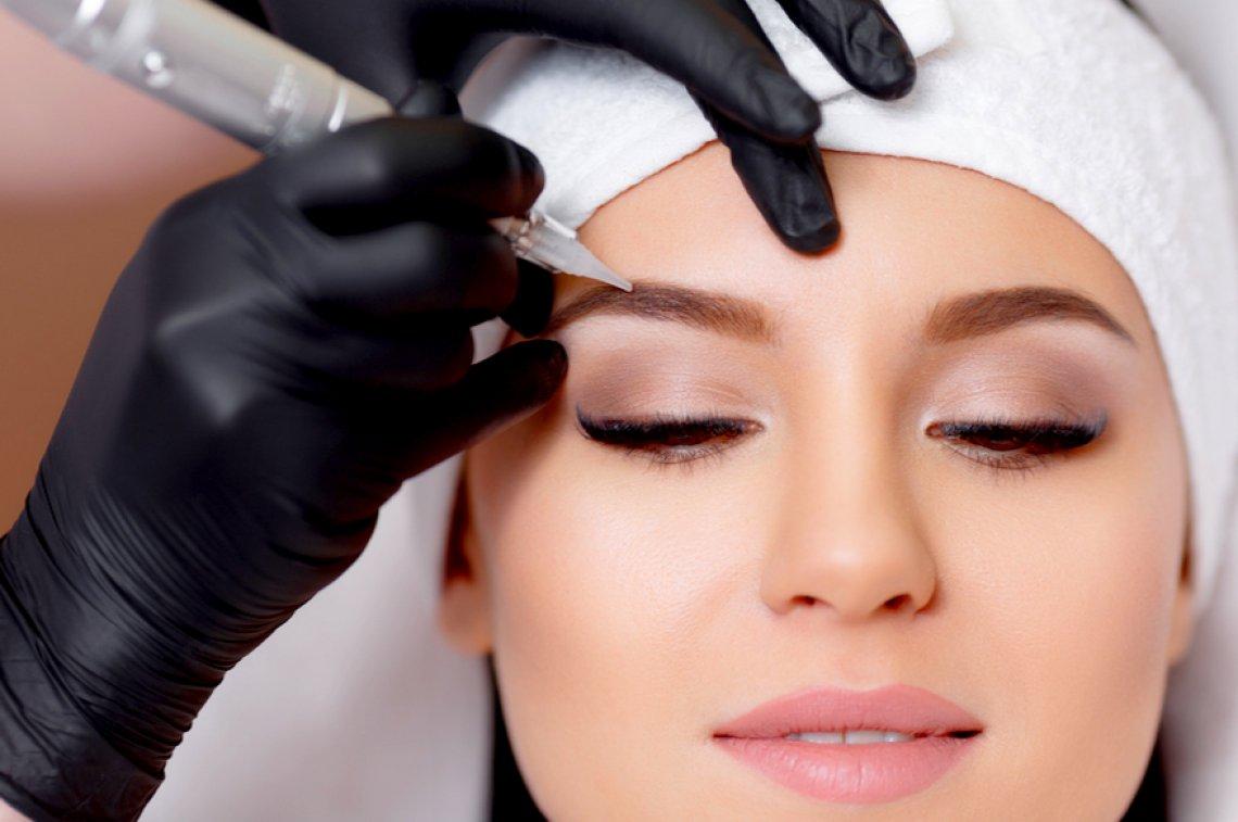 dermopigmentazione o trucco permanente