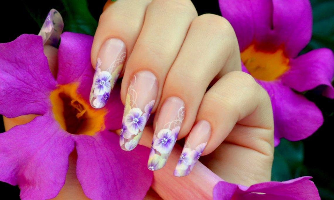 micropittura unghie